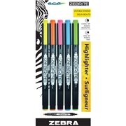 Zebra Pen Corporation Zebra Pen Eco Double-ended Highlighter