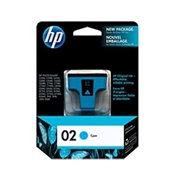 HP #02 C (C8771W) OEM Ink Cartridge