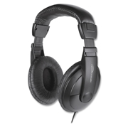 Compucessory Cushion Stereo Headphones w/Vol Cntrl