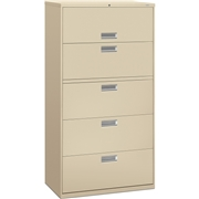 The HON Company HON 600 Series Standard File Cabinet