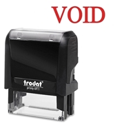 Trodat GmbH Trodat Printy Red Void Self-Inking Stamps