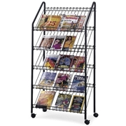 Safco Mobile Litreature Display Rack