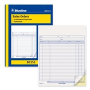 Dominion Blueline, Inc Blueline Sales Order Book
