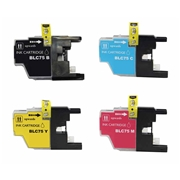Brother LC75 CMYK Multipack compatible Ink Cartridge