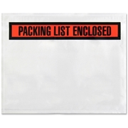 Sparco Pre-labeled Packing Slip Envelope