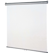 "Quartet Manual Projection Screen - 118.8"" - 1:1 - Wall/Ceiling Mount"