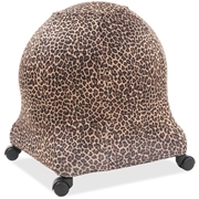 Posture Perfect Solutions Evolution Chair Ball Chair Leopard Cozy Slipcover