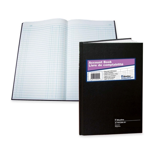 Dominion Blueline, Inc Blueline 790 Series Account Record Book