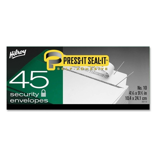 ACCO Brands Corporation Hilroy Press-It Seal-It Self Adhesive Envelope