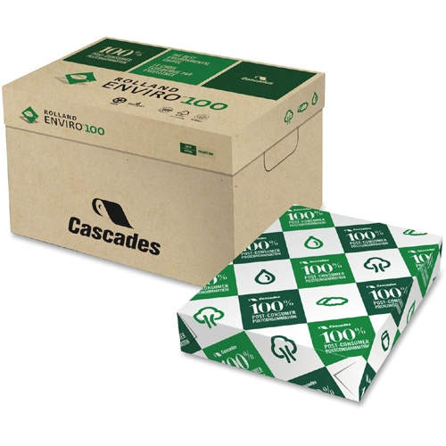 Cascades Rolland Enviro100 Recycled Paper