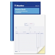 Dominion Blueline Blueline Invoice Book