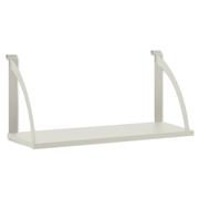 Basyx by HON Partition Mounted Steel Hang-on Shelve
