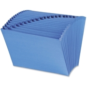 Smead Manufacturing Company Smead 70727 Blue A-Z Expanding File with Antimicrobial Product Protection