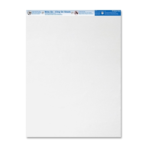 Dominion Blueline, Inc Blueline Write On Cling Easel Pad