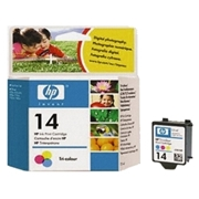 HP #14 C (C5010AN) OEM Ink Cartridge