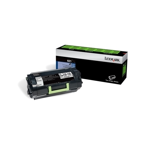 Lexmark OEM 621 (62D1000) Toner Cartridge