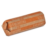 Sparco Products Sparco Flat $10.00 Quarters Coin Wrapper