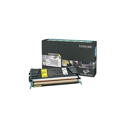 Lexmark OEM C5220YS Toner Cartridge