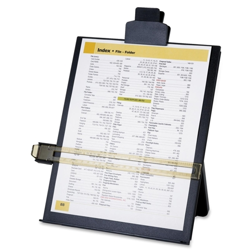 Sparco Products Sparco Copy Holder with Document Clip