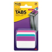3M Post-it Solid Colours Angled Filing Tabs