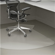 Lorell L Lip Chair Mat