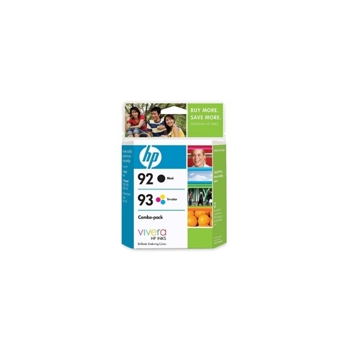 HP #92/93 Combo Pack (C9513FC Combo Pack) OEM Ink Cartridge