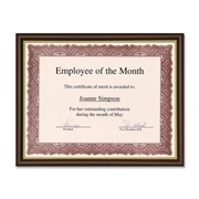 First Base, Inc First Base Recognition Certificate Frame