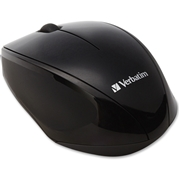 Verbatim America, LLC Verbatim Wireless Notebook Multi-Trac Blue LED Mouse - Black