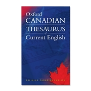 Oxford University Press Canadian Thesaurus of Current English Dictionary Printed Book by Katherine Barber, Robert Pontisso, Heather Fitzgerald - English
