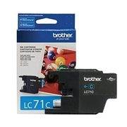 Brother LC71 CN (LC-71 CN) OEM Ink Cartridge