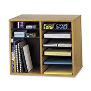 Safco Products Safco Adjustable 12-Compt. Literature Organizer
