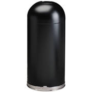 Safco Open Top Dome Receptacle