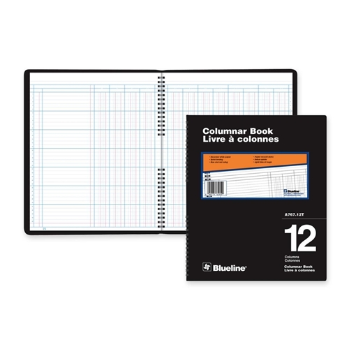 Dominion Blueline, Inc Blueline 767 Series Double Format Columnar Book