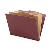 Sparco Classification Folder with Pocket Dividers