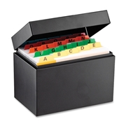Steelmaster Card File Box