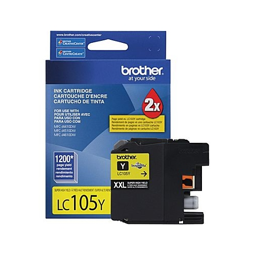 Brother LC105XXL YW OEM Ink Cartridge