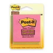 Post-it Super Sticky Tropical Notes