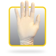The Safety Zone Safety Zone Powdered Natural Latex Gloves