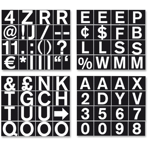 Bi-silque S.A MasterVision Magnetic Letters