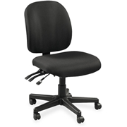 Lorell Mid-Back Task Chair w/o Arms