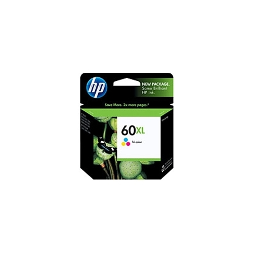 HP #60 XL C (CC644WN#140) OEM Ink Cartridge