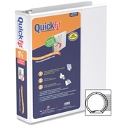 Davis Group of Companies Corp QuickFit Antimicrobial Round Ring Binder