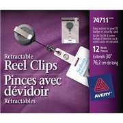 Avery Clip-on Retractable ID Reel