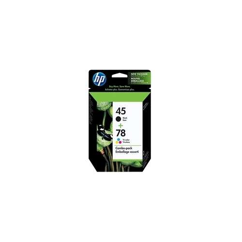 HP #45A/78D Combo Pack (C8788FC#140 Combo Pack) OEM Ink Cartridge