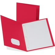 TOPS Products Oxford Twin-Pocket Folders with Fasteners