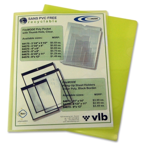 VLB Marketing Ltd VLB Poly View Folder