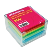 Winnable Enterprise Co. Ltd. Winnable Rainbow Note Sheets Memo Cube