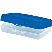 Storex Carrying Case for School Stationery - Blue
