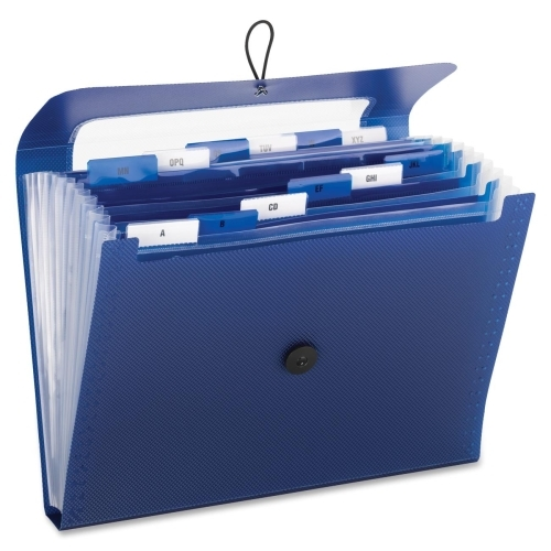 Smead Manufacturing Company Smead 70902 Navy Step Index Poly Organizer