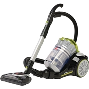BISSELL Homecare BISSELL PowerClean Multi-Cyclonic Canister Vacuum w/ Motorized Power Foot 1654C